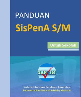 Aplikasi SisPenA yakni kependekan dari Sistem Informasi Penilaian Akreditasi yang berfung Panduan SisPenA S/M untuk Sekolah