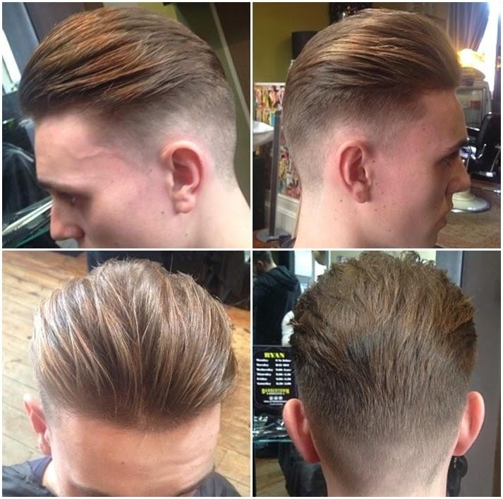 Gaya Dan Potongan Rambut Pria Terbaru - Hairstyle cowok jaman sekarang