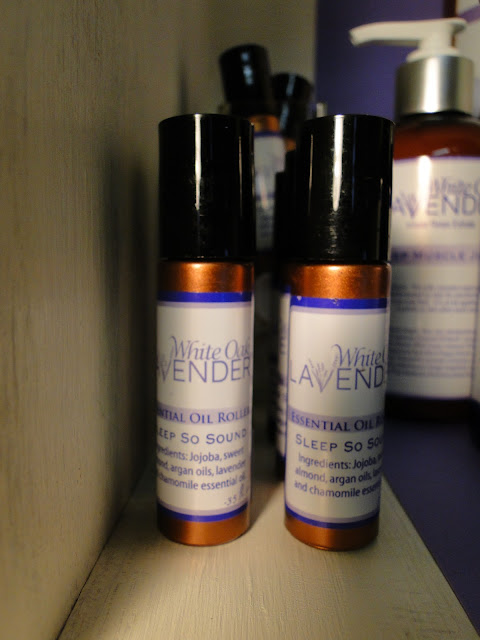 lavender essential oil at the Camellia
