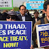 South Korean protesters block entrance to THAAD installation site