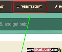 Website Script of shorte.st