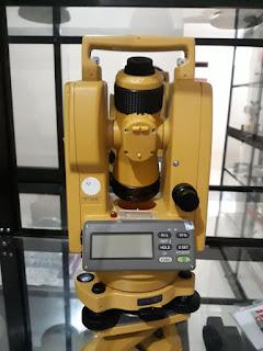 Theodolite Topcon DT 205L Laser