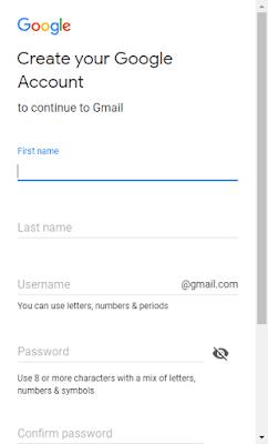Lengkap Cara Daftar Akun Gmail 2018