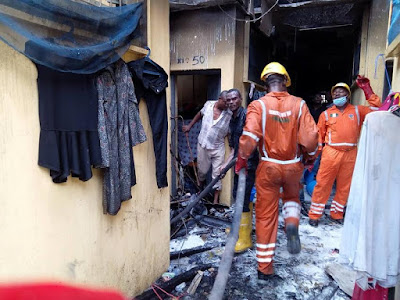 Yabatech fire outbreak: No casualties recorded, students rushed to hospital for post-disaster trauma (photos)