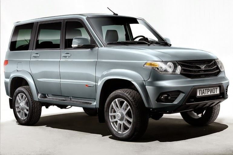 Уаз Патриот 2015-2016 модельного года в новом кузове