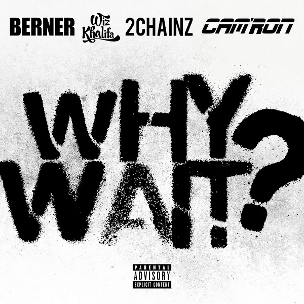 Berner & Cam'ron - Why Wait? (feat. Wiz Khalifa & 2 Chainz) - Single Cover