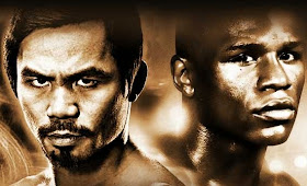 Manny Pacquiao, Floyd Mayweather square off on May 2