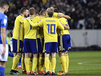 Match Result Sweden vs Italy: Score 1-0