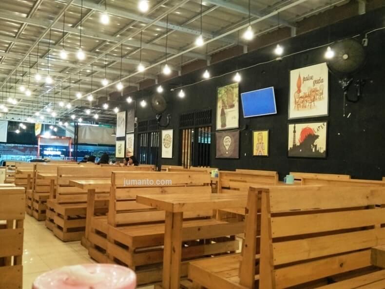 tempat makan di pringsewu lampung paloe gada cafe