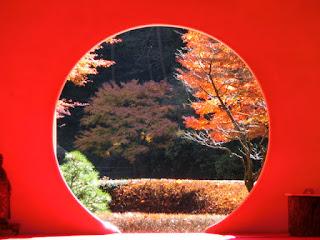 明月院・悟りの窓