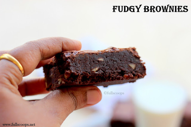 Fudgy Cocoa Brownies