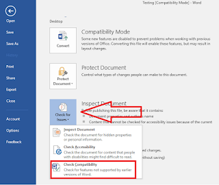 change Compatibility Mode of ms word,Compatibility Mode change,Compatibility Mode upgrade,what is Compatibility Mode,upgrade old file to new file,conver old word file to new word file,Check Compatibility,find version,change file,convert word file,2003 to 2007,2010 to 2013,2013 to 2016,ms word file compatibility mode option,how to remove,how to update,how to convert file,word,convert old to new file,ms word file converter,word file convert to new Find and Upgrade Compatibility Mode Old MS Office file to Newest version   Click here for more detail...