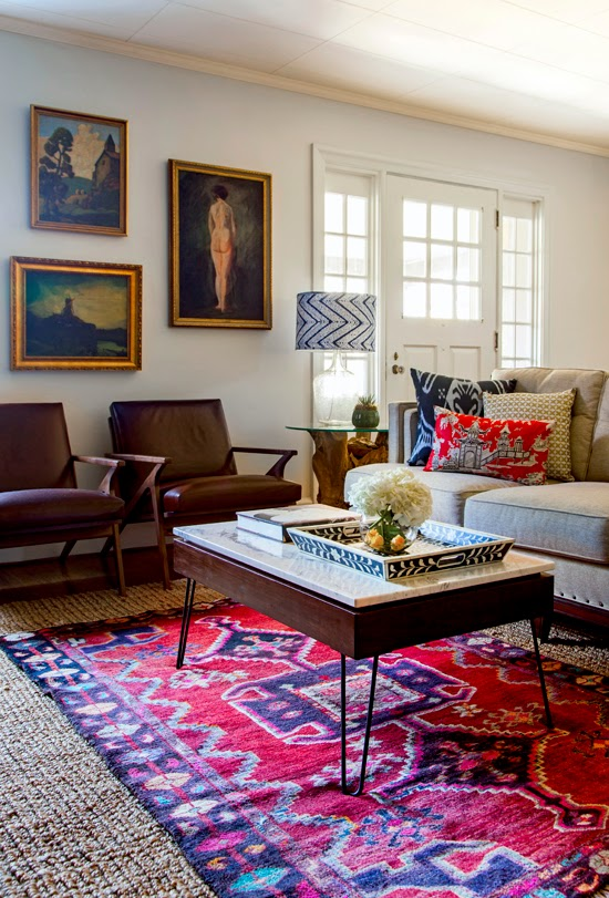 Boho Modern Living Room: The Centric Home: Well Done Bohemian