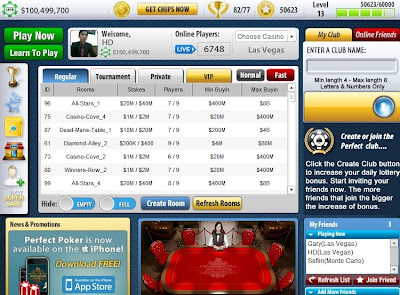 games Perfect Poker facebook image