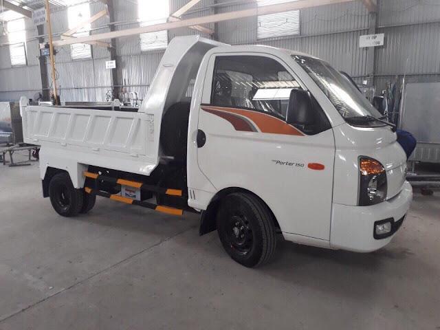Xe thùng ben Hyundai Porter H150