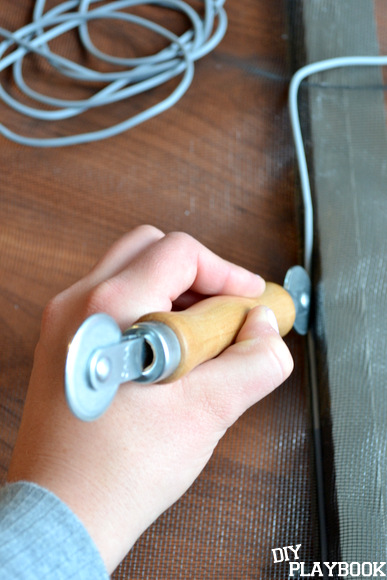 using a spline roller