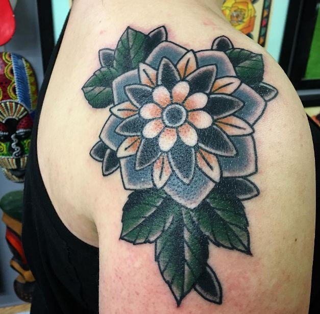 50 Delicate Flower Tattoos For Men With Meanings 2019 Simple