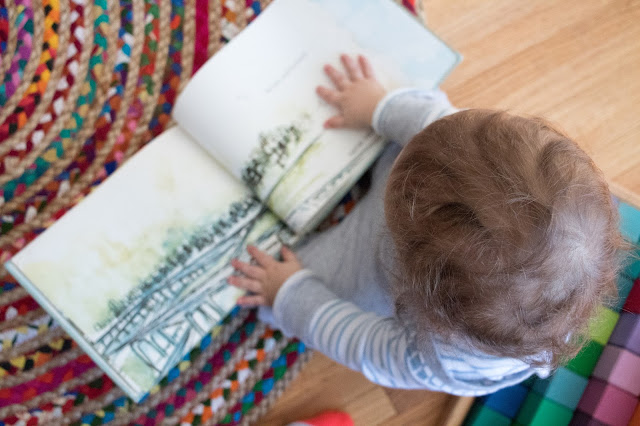 Supporting a toddler's desire to read, and some Montessori friendly favorite books at 15-months!
