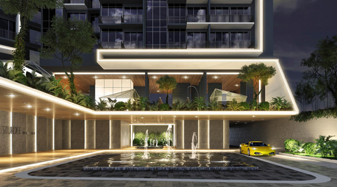 Sturdee Residences Drop Off Point