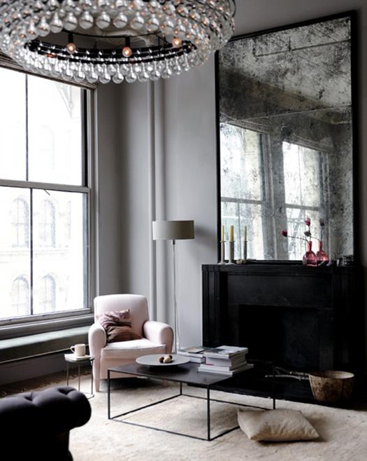 the pink chalkboard big statement mirrors. Black Bedroom Furniture Sets. Home Design Ideas