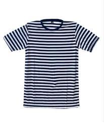 Kaos Pria Terlaris dan terbaru stripe putih