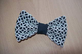 Tatting bow tie - papillon a chiacchierino