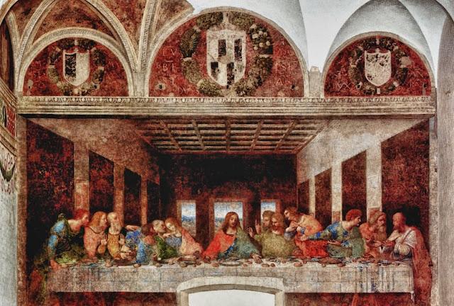 Última Ceia de Leonardo da Vinci em Santa Maria delle Grazie