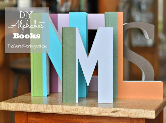 DIY Alphabet Books