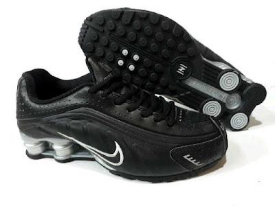 Sepatu Nike Shock For Men (Import) Black List White