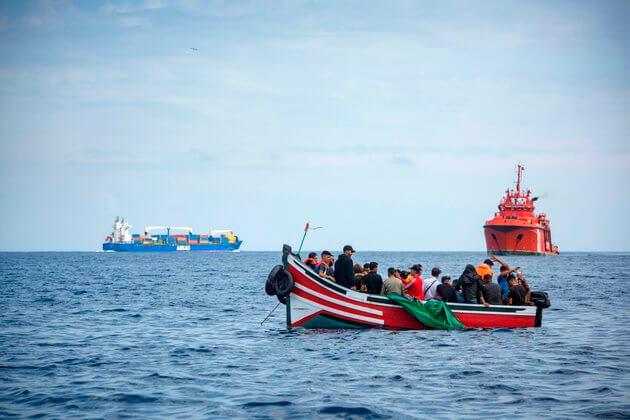 """تارودانت24 /إنقاذ 68 """"حراگا"""" توجهوا من المغرب صوب اسبانيا"""