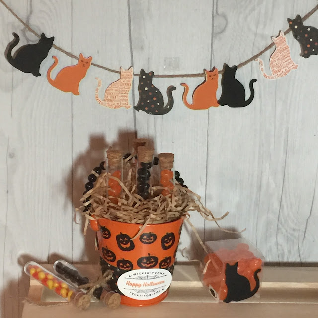 Sneak Peek of Halloween projects using new Stampin' Up! products available September 1 2017