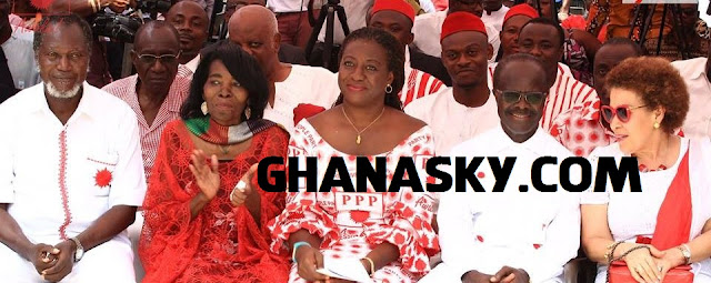 Dr. Papa Kwesi Nduom and Late Madam Eva Naa Amerley Lokko