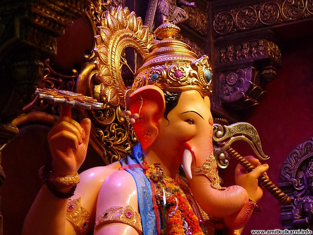 Download Images Of Ganpati Bappa: Hd Wallpapers Lalbaugcha Raja 2012