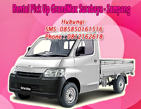 Rental Pick Up GranMax Surabaya-Sampang