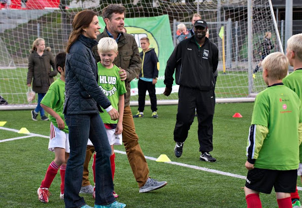 Crown Prince Frederik and Crown Princess Mary participated in the introduction of Mary Foundation Project Klubfidusen