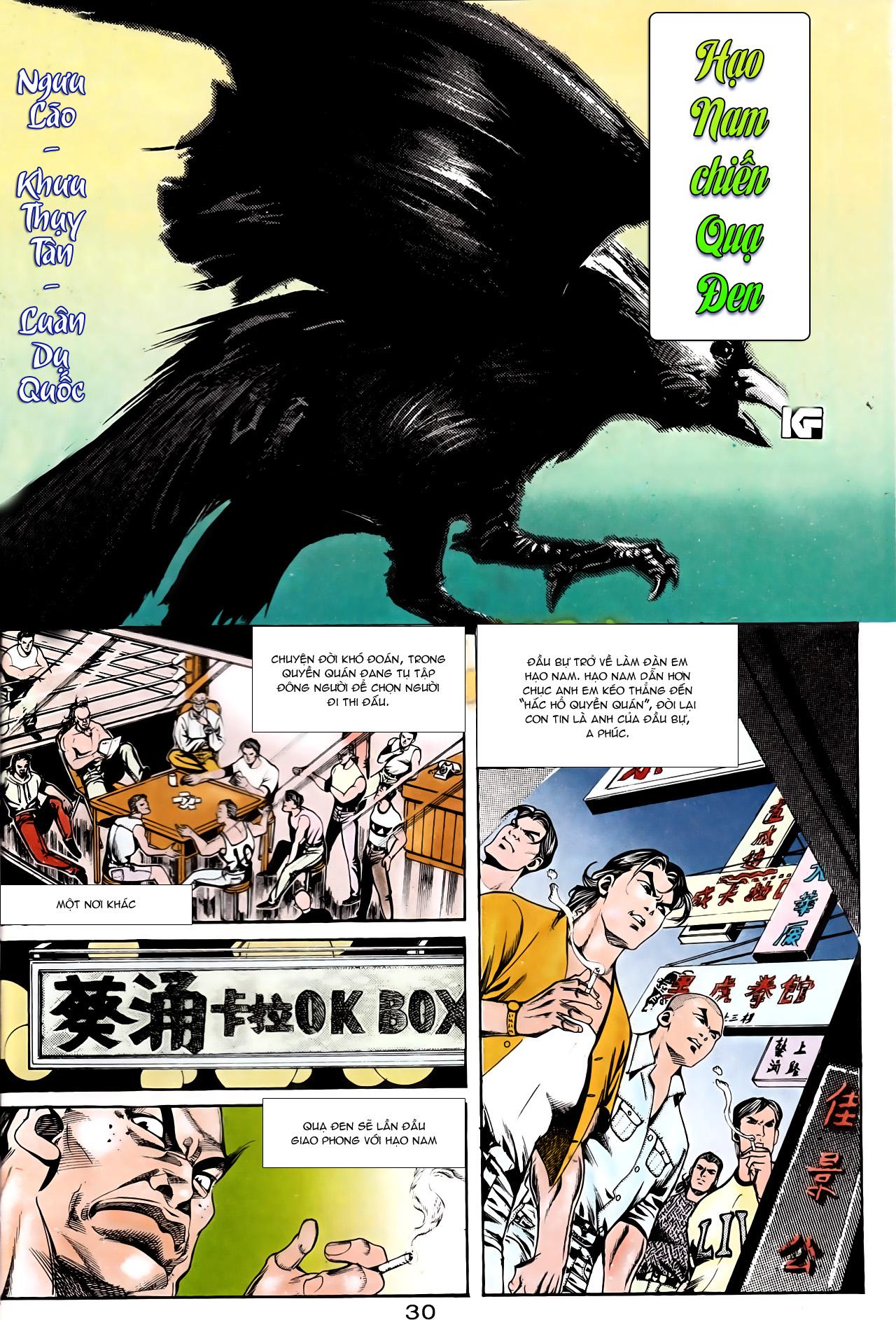 Người Trong Giang Hồ chapter 164: hạo nam chiến quạ đen trang 2