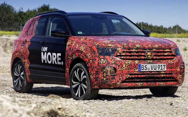 Volkswagen T-Cross - concorrente do HR-V