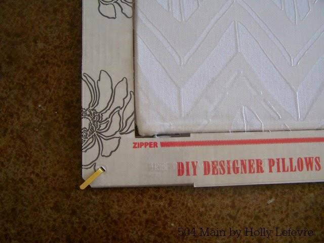 Create Your Own Designer Pillows (Paint-a-Pillow GVEAWAY)