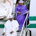 Hotuna: Shugaba Buhari ya koma Abuja bayan hutun Sallah