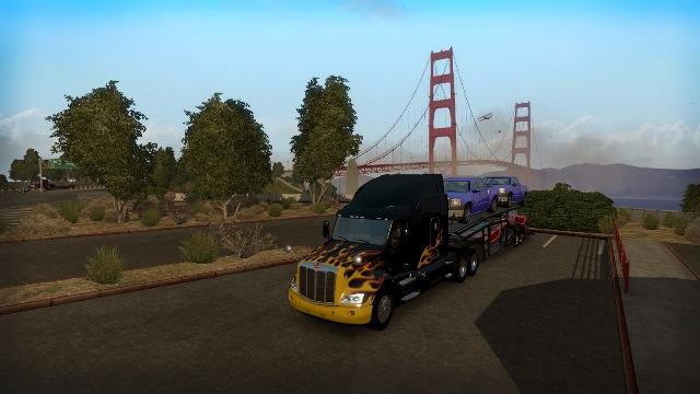 Download American Truck Simulator PC Games Gameplay