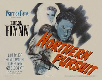 Persecución en el Norte   1943   Northern Pursuit   Caratula