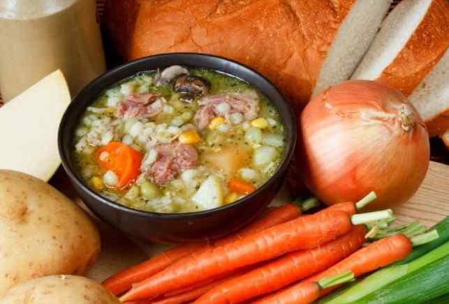 Oats and Vegetable Soup