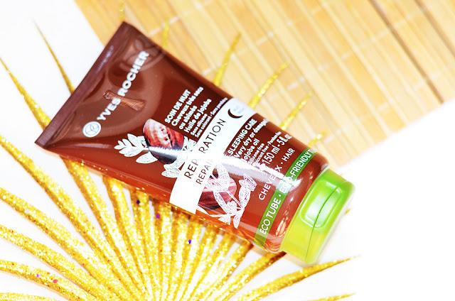 Ночной Крем для Волос «Питание и Восстановление» Yves Rocher Repair Sleeping Care Sleeping Care - Very dry or damaged hair - Jojoba oil