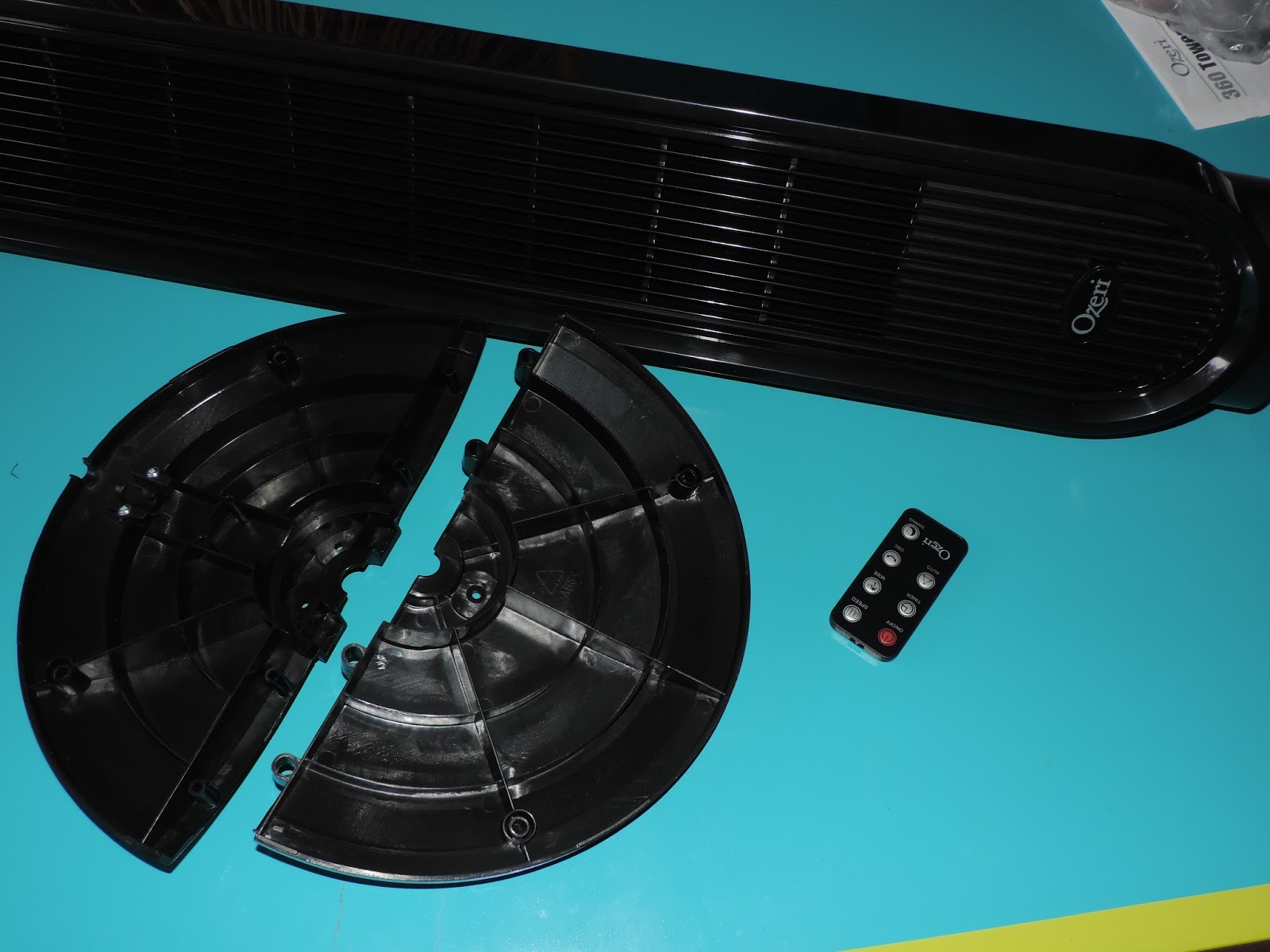 Mail4Rosey: Cool Down Summer with the Ozeri 360 Degree Oscillating Fan