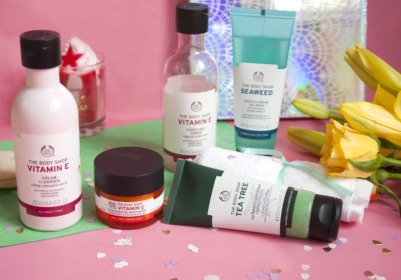 the body shop skincare review