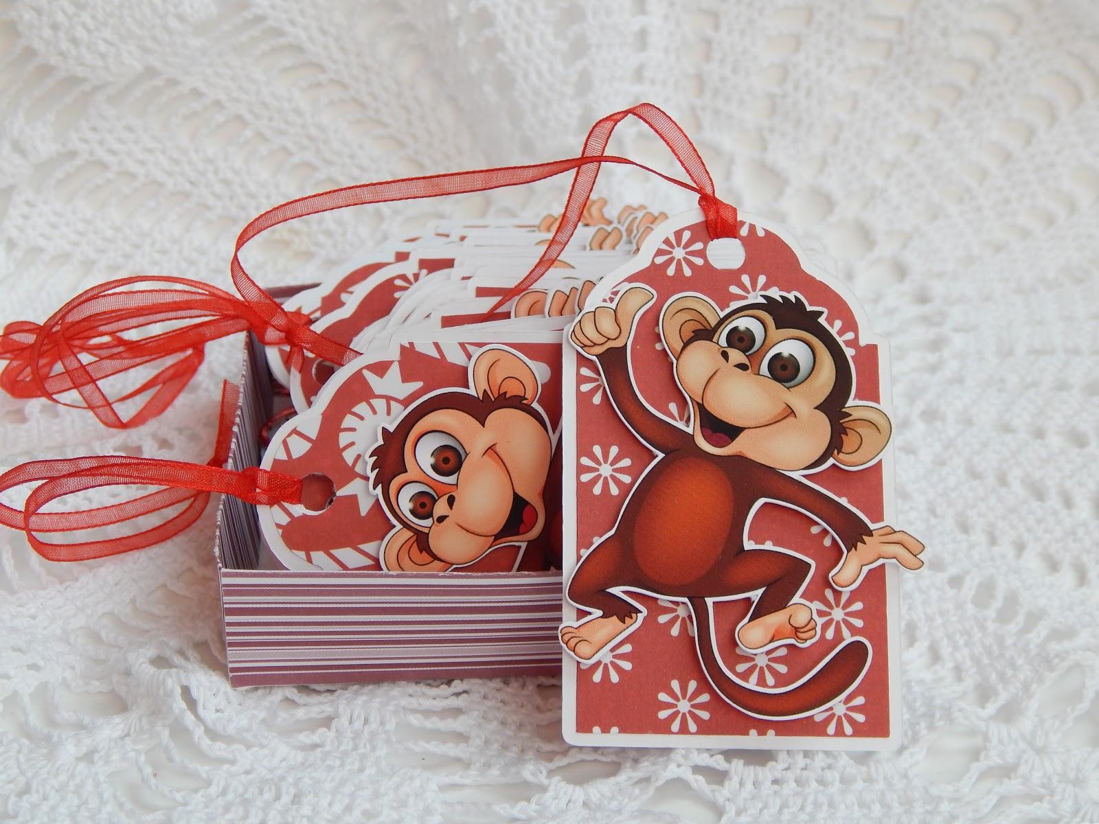 Открытки из обезьянки, украсить