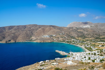 Baie Aegiali-Amorgos-Cyclades-Pano Gitonia