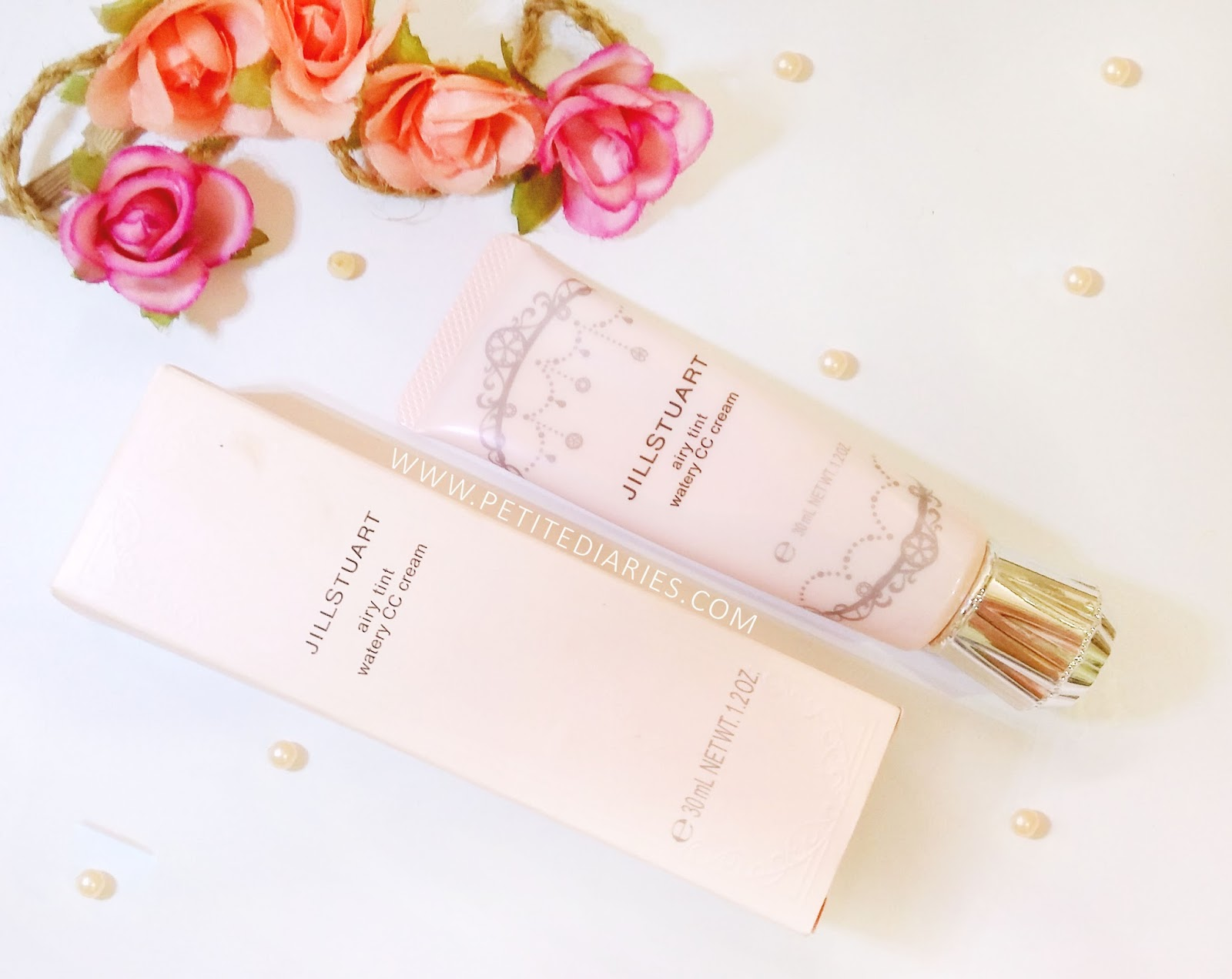 review jill stuart japan airy water cc cream