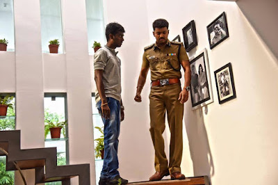 Theri on location pics