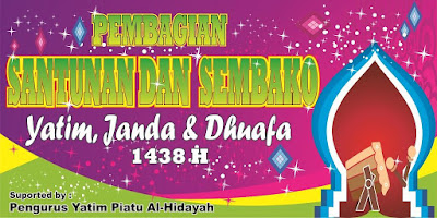 Download Banner Santunan Format Cdr Gratis